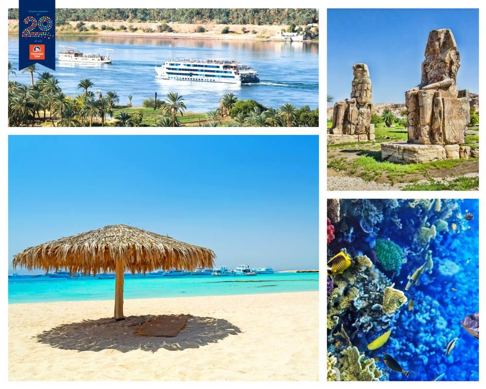 Ei bine, in #Hurghada si #SharmElSheikh visul tau devine realitate. Bucura-te si tu de spectacolul orbitor al lumii subacvatice din Marea Rosie, desertul cu spatii vaste presarat cu oaze